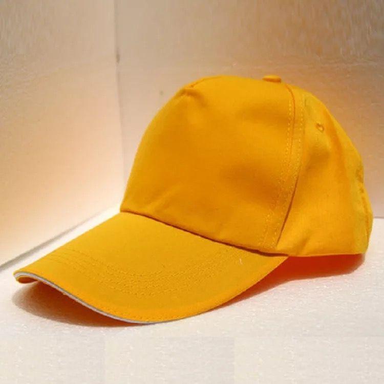 纯色工作帽
