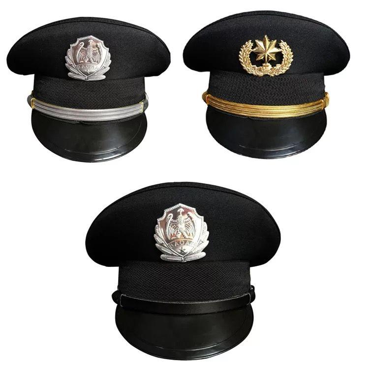 六瓣军警帽