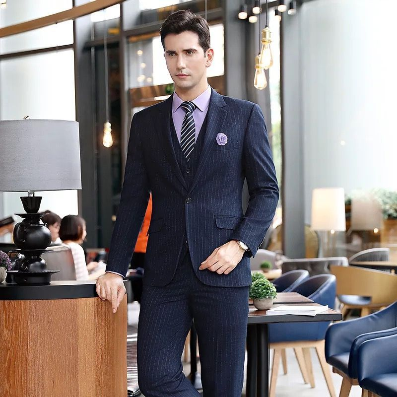 男职业装西服定做好了该如何保养呢