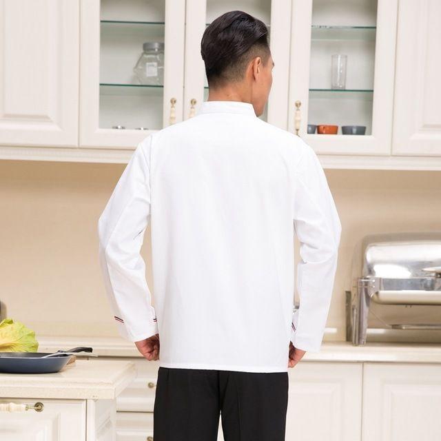 厨房东莞工作服烘焙师蛋糕店后厨制服秋冬装