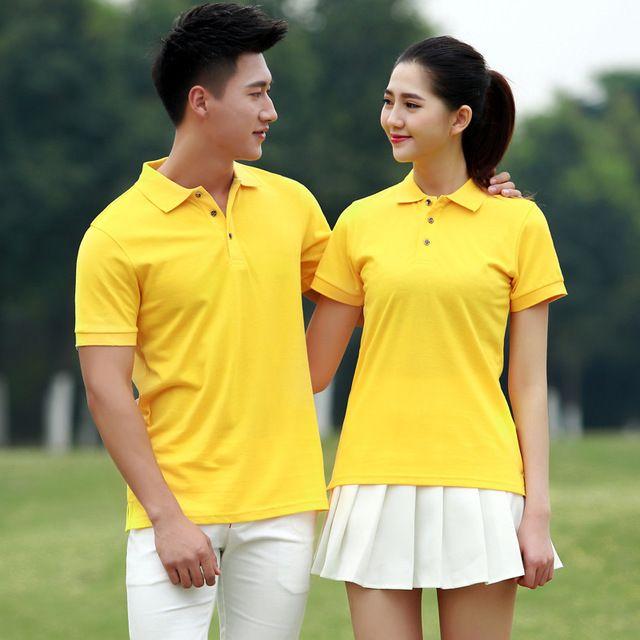 东莞工作服定制印绣 logo东莞工装 班服 超市团体旅游广告宣传短袖T恤