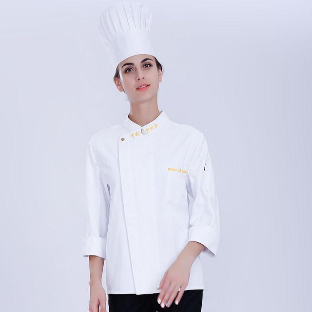 酒店餐饮厨师 东莞工作服男 秋冬烘焙蛋糕店厨房衣服快餐店厨师服长袖女