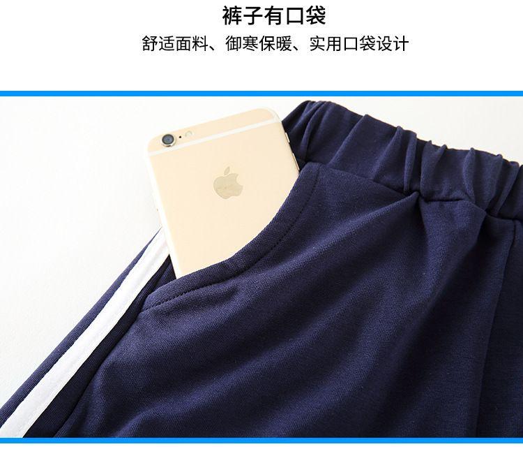 夏季幼儿园园服 纯棉夏装小学生校服短袖套装 儿童班服运动服两件套