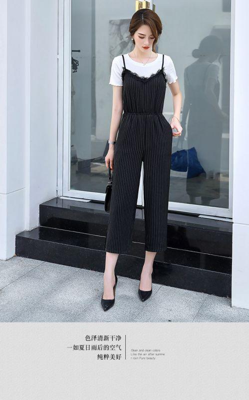 小香风修身 西装 夏季套装女2018新款时尚气质休闲ol两件套