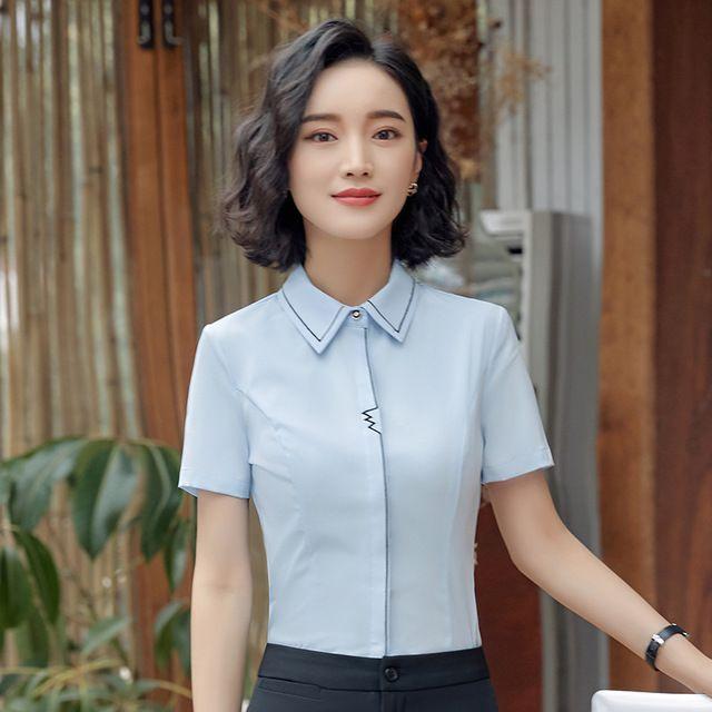 2018春装新款西餐厅服务员酒店前台工作服工衣