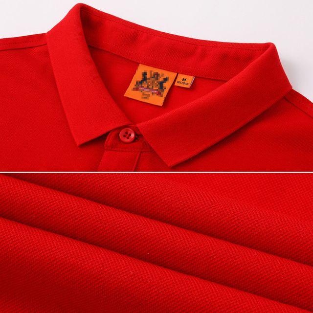 企业polo衫定制t恤 短袖印logo广告文化衫 公司工作服刺绣工衣订做