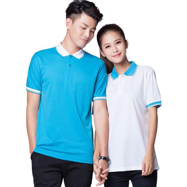 同学聚会t恤定制 工作服POLO衫定做 班服广告文化衫印字刺绣