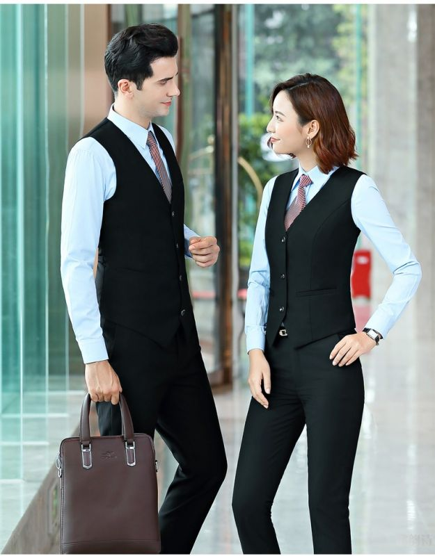 套装男款 西装酒店 大堂经理正装面试西服银行销售工作服