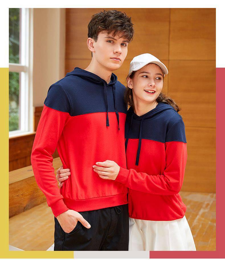 秋季新品宽松卫衣薄款长袖男女同款卫衣上衣95-H8002