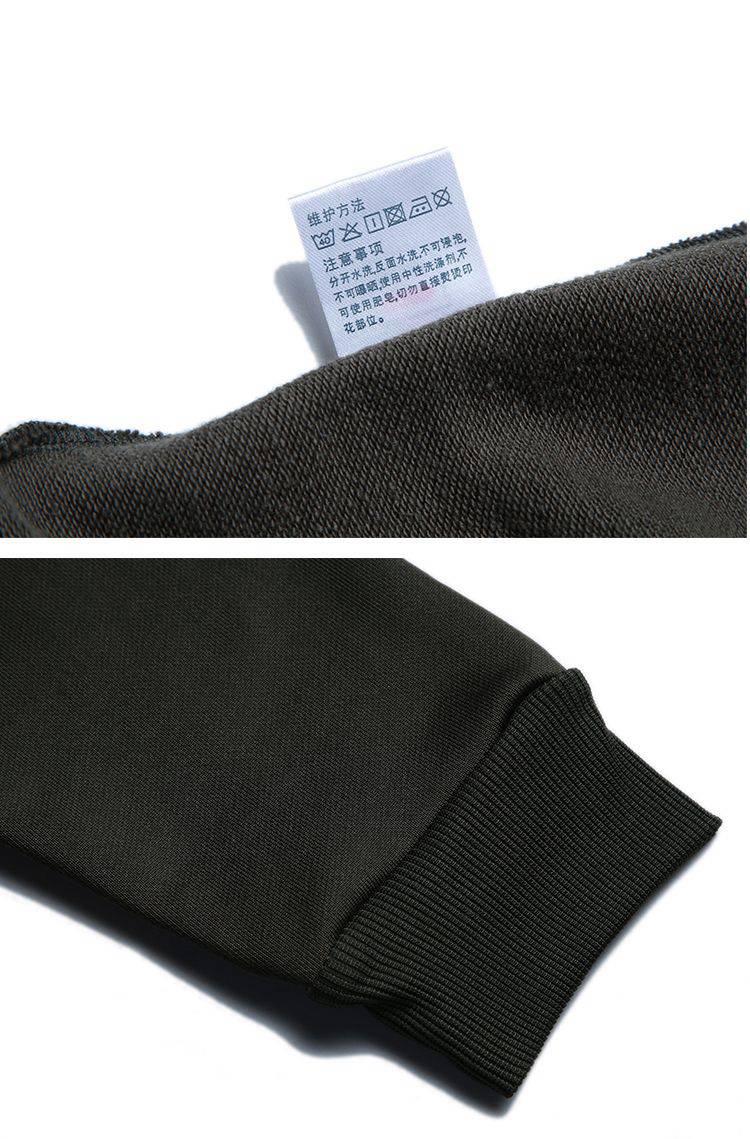 运动休闲时尚男女款简约圆领套头长袖卫衣HL-7886