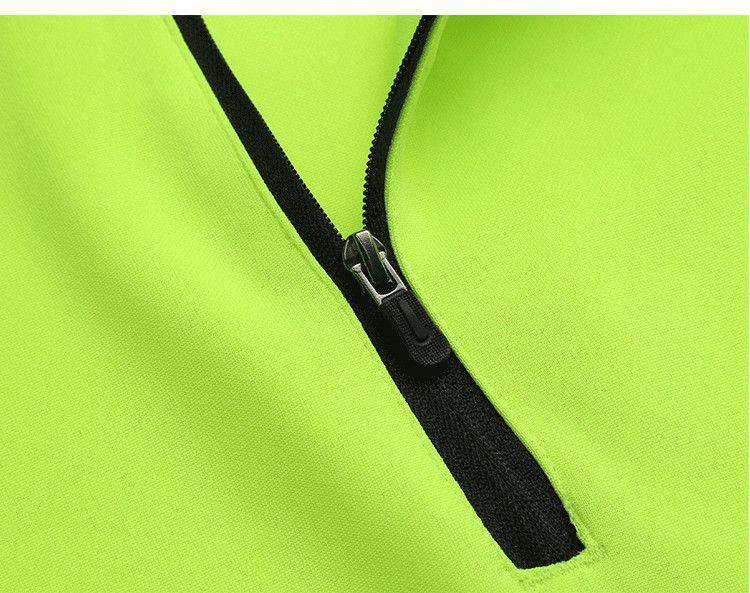 户外运动半拉链长袖训练套装秋冬新品LD-2005